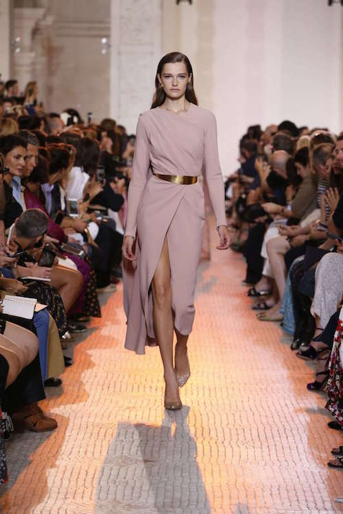 Elie Saab Kruvaze Etek Detaylı Elbise