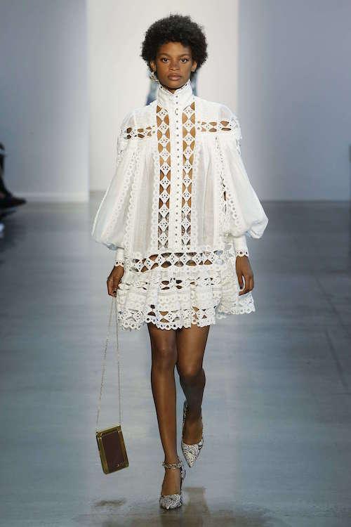 Zimmermann Boğazlı Gömlek Elbise