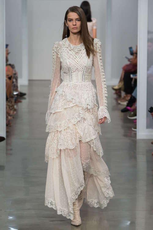 Zimmermann Bağcık Detaylı Uzun Elbise