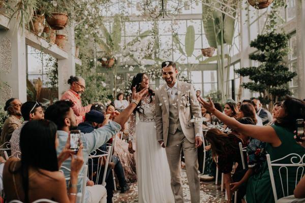 1 Yastıkta - Nikah Sonrası Çift Fotoğrafı