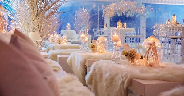 Brides Project - Kış Temalı Düğün Dekorasyonu