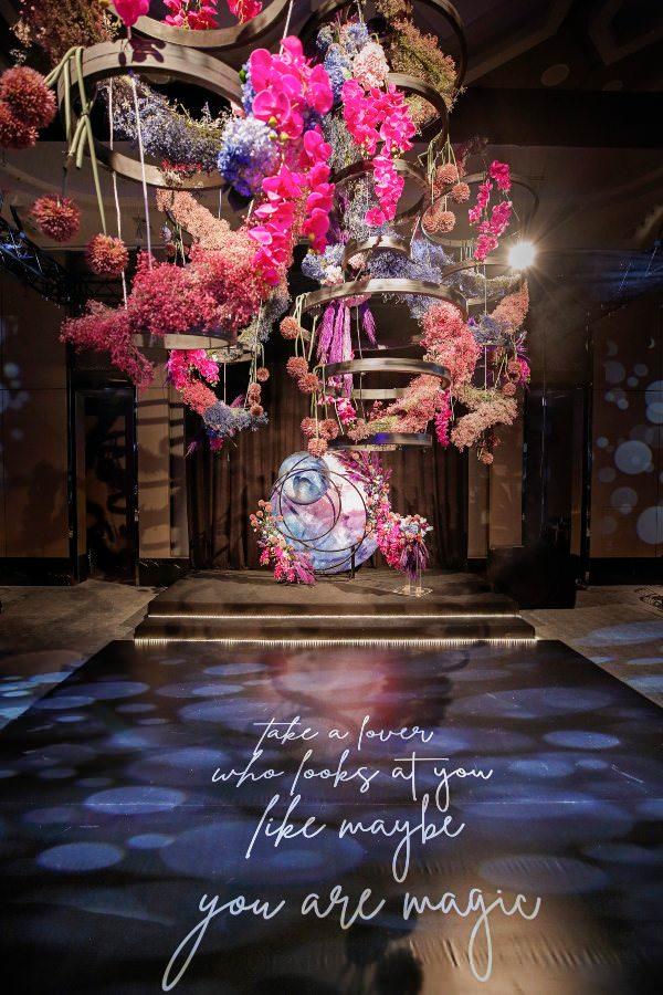 Brides Project - Pembe & Mor Ağırlıklı Modern Dekorasyon