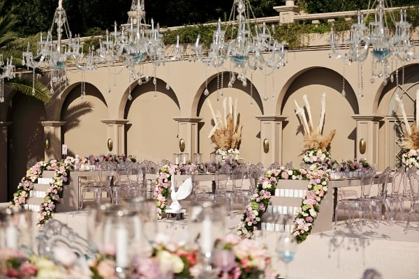 Brides Project - Pampas Detaylı Dekorasyon
