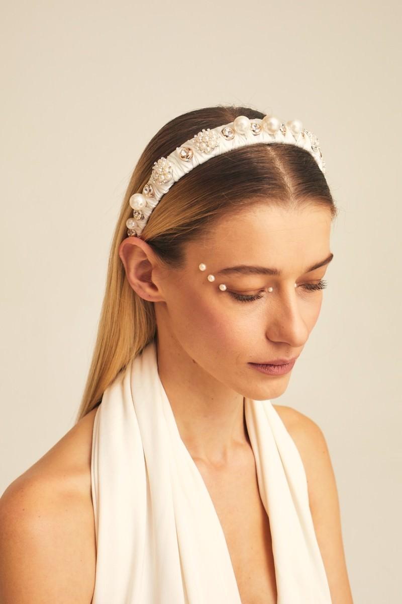 Gaios Design - Miss Ivory Taç