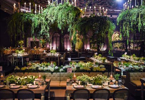 Mywedding - Yeşil Sarkan Bitkilerle Düzenleme
