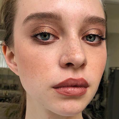 Pelin Pehlivanoğlu - Bronz Göz Makyajı