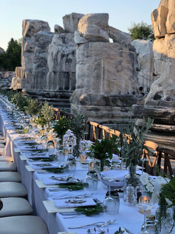 Ruks Event - Didim Apollon Tapınağı Dekorasyon