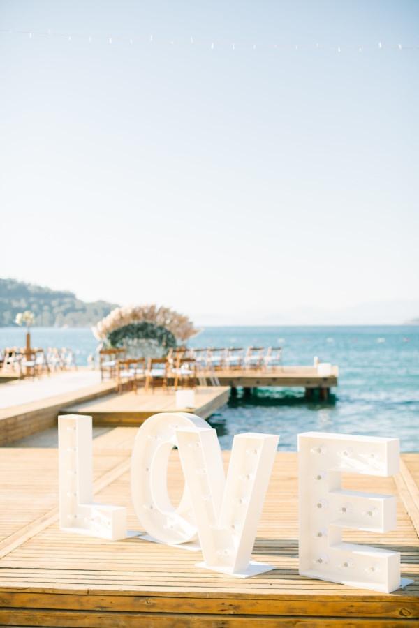 Ruks Event - Işıklı Love Yazısı