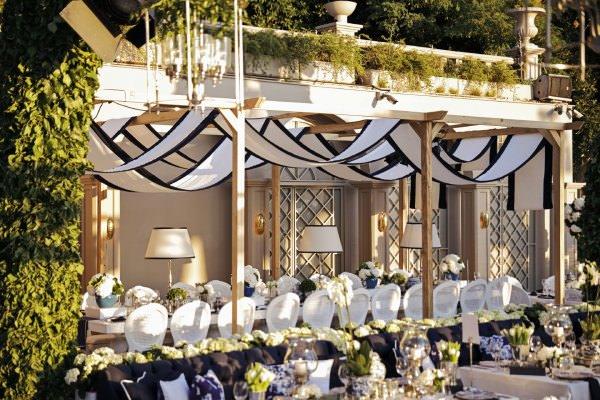 S Design - Lacivert Beyaz Kumaşlarla Dekorasyon