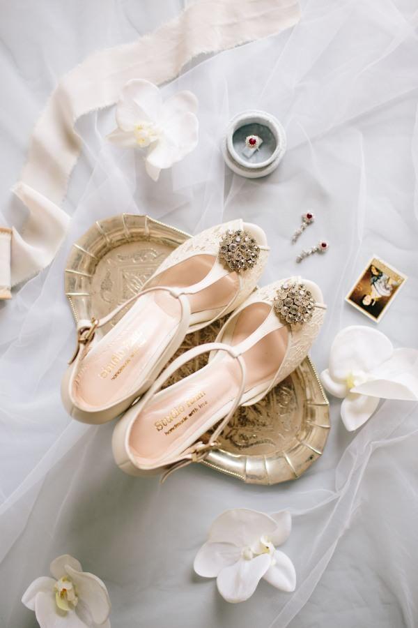 Studio Rain - Taş Tokalı Ayakkabı