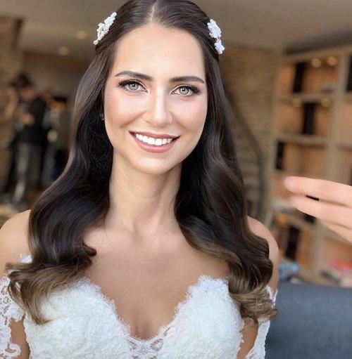 Vedat Kozgül Wedding - Doğal Gelin Saç ve Makyajı