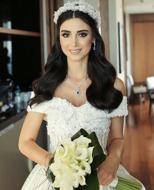 Vedat Kozgül Wedding - Gösterişli Gelin Saç ve Makyajı