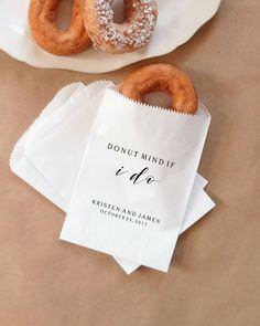 Doughnut Tatlısı Düğün Hediyeliği