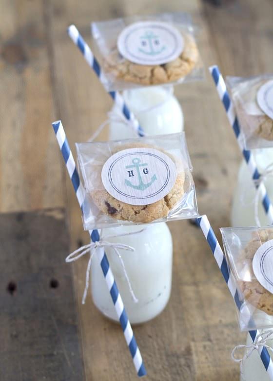 Kurabiye ve Süt Düğün İkramı