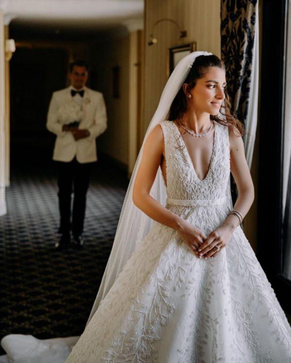 Madlen Abdo ile Mete Akgöl'ün Tarihi Dokulu Romantik Düğünü