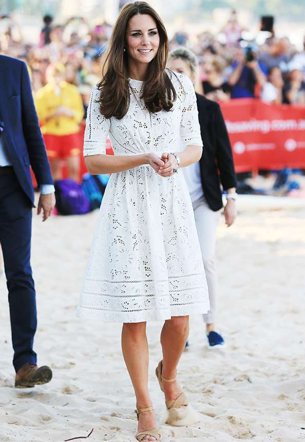 Kate Middleton'ın Zimmermann Elbisesi