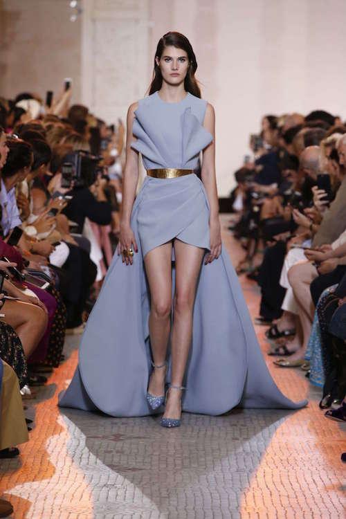 Elie Saab Yaka Detaylı Elbise