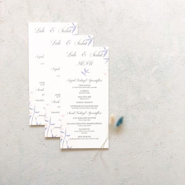 AY Paper Studio - Minimal Tasarımlı Menü