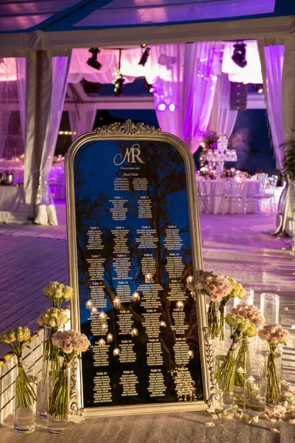 Nilyum Wedding & Event Design - Davetli Panosu