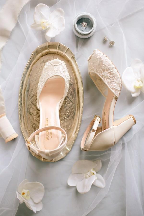 Studio Rain - Bilekten Bantlı Ayakkabı