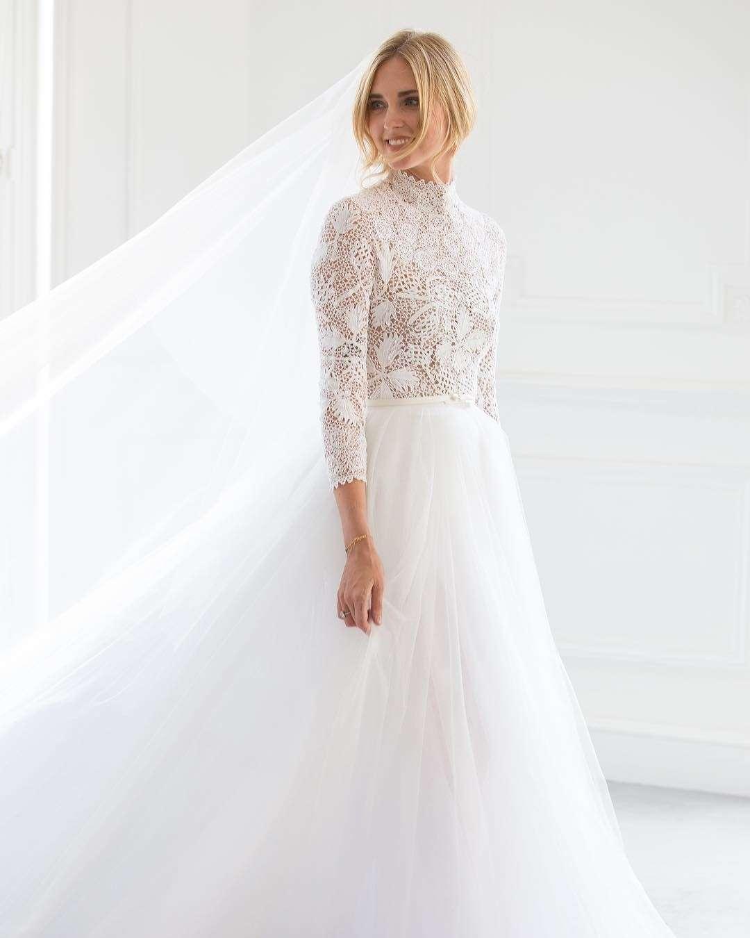 Chiara Ferragni'nin Christian Dior Gelinliği