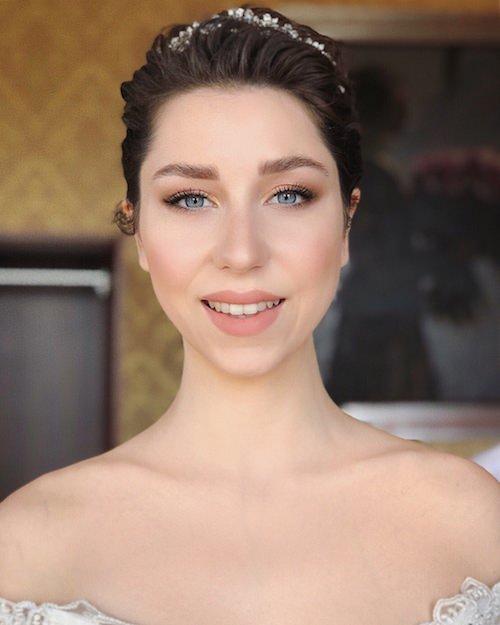 Gülüm Erzincan - Nude Gelin Makyajı