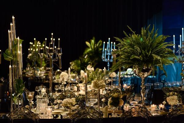 Lavin Event - Yaprak Ağırlıklı Masa Düzenlemesi